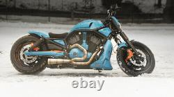 HARLEY EXHAUST PIPES, Stainless Steel TIG NIGHT ROD VRSCDX