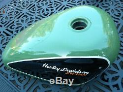 HARLEY XR1000 SPORTSTER steel FUEL gas TANK 1982 & later USED Free USA Shipping