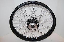 Harley 21 40 Spoke Black Wheel Sportster 2000-07 XL Nightster Dyna 2000-03