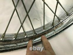 Harley 21 spoke FXST FXDWG single disc aluminum hub wheel rim