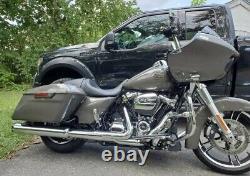 Harley CVO custom metal tank emblems, 4.3 mirror polished stainless steel