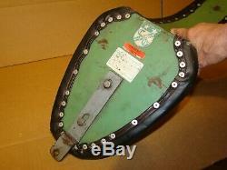 Harley Chopper Seat Vintage Corbin Gentry Widowmaker MK 2 Steel Bottom