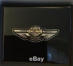 Harley-Davidson 100th Anniversary Pocket Watch by Bulova #1468 of 2003 Issued