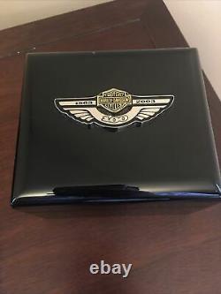 Harley Davidson 100th Anniversary Watch Limited Edition Bulova Swiss Made