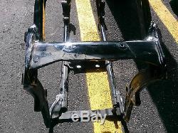 Harley Davidson 2014 original Softail frame cut off neck No Title