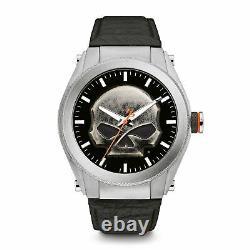 Harley Davidson 76A156 Men's Heavy Metal Wristwatch