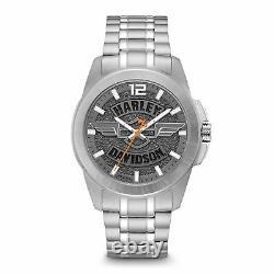 Harley Davidson 76A157 Men's Bracelet Wristwatch