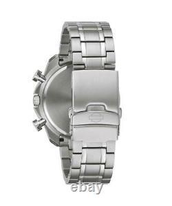 Harley Davidson 76B186 Men's Bar & Shield S/Steel Chrono Watch RRP £249.00