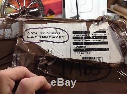 Harley Davidson Arlen Ness Twin Wall Back Cut 3 Slip-On Mufflers Sportster, Dyna