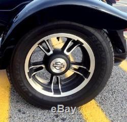 Harley-Davidson Freewheeler Wheel Discs Mirror Polished Stainless Steel USA Made