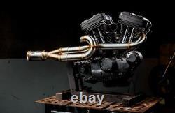 Harley Davidson Sportster Stainless Steel Custom Exhaust Pipes