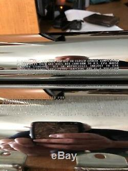Harley FLSTN FLSTF FLSTC Screaming Eagle II 2 Mufflers 00-06 Softail SLIP ON