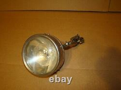 Harley JD Motorcycle Light Stainless Steel & Mount Excelsior Henderson Indian