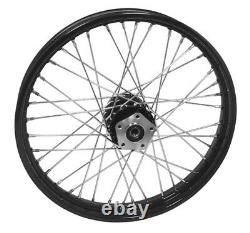 Harley Softail FXDWG 21 Black 40 Spoke Tubeless Front Wheel Rim 51713