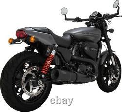 Hi-Output Black Slip-On Exhaust VaH. 47943 For 14-20 Harley XG500 XG750/A