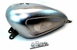 Indented Custom Chrome 3.3 EFI Gas Tank 2007-2016 Harley Davidson Sportster XL