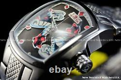 Invicta 36mm Limited Edition DC Comics Harley Quinn Lupah Revolution SS Watch