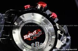 Invicta 48mm DC Comics psychotic villain Harley Quinn Joker Lover Chron LE Watch