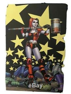 Invicta DC Comics Limited Edition Harley Quinn 36 mm Case Men's Bracelet/Link