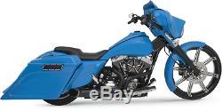 Killer Python Razyer 2-1 Black Exhaust Harley Davidson 95-07 Touing Flhx Flht