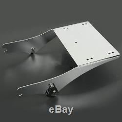 King Tour Pack Pak Latches Razor Chop Trunk Mount Rack For Harley Touring 97-08
