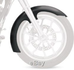Klock Werks Black 21 Slicer Front Fender for 86-13 Harley Dyna Softail FXST