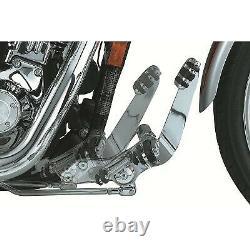 Kuryakyn 9064 +3 Extended Chrome Forward Control Kit for Harley FXD Dyna 91-17