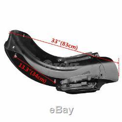 LED CVO Style Rear Fender System For Harley Davidson Touring Models 2014-2019 18
