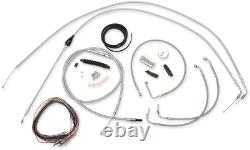 La Choppers Ape Hanger ABS/Non ABS Handlebar Cable Kit for 99-06 Harley Touring