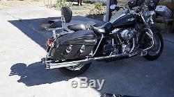 MUTAZU 4 2.0 Roaring MF-05-CC Slip-On Mufflers Exhaust 1995-2016 Harley Touring