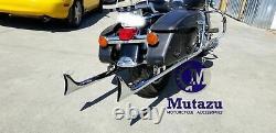 Mutazu 39 Fishtail Fish tail Exhaust Slip On Mufflers 2017-UP Harley Touring