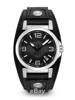 New Harley Davidson Men's watch #76B163