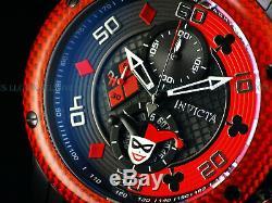 New Invicta 48mm DC Comics Harley Quinn Scuba Chronograph Bad Influence Watch