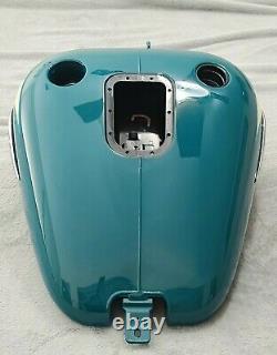 New OEM Take-off Harley Heritage Softail 2009 EFI Fuel Gas Tank Deep Turquoise