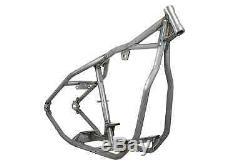New Wishbone Rigid Frame For Harley Fl/fx 30 Rake-0-0, Stock Width Bobber