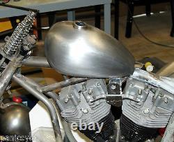 Olschool Wassell Hap Jones Frisco Peanut Tank 1.8g Screw Harley Bobber Chopper