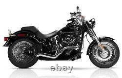 Rockstar 2-1 Full Exhaust Chrome Magnaflow 7210805 For 86-17 Harley Softail