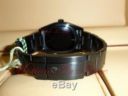 Rolex Oyster Perpetual 36mm PVD Harley Davidson Edition Black With Orange 116000