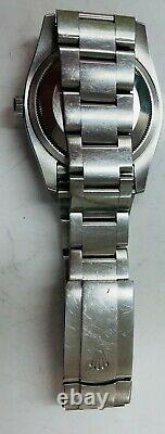 Rolex Oyster Perpetual Steel Automatic'Harley Davidson' Dial Watch 116000 B&P