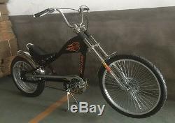 Rosetta Sport LA bicycle Lowrider BLACK MO chopper bike Harley cycle cruiser