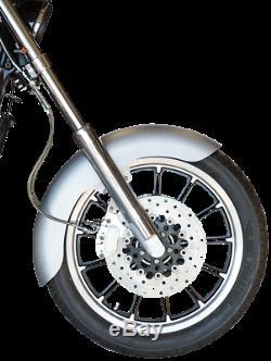 Russ Wernimont 19 Steel Front Tire Fender for 82-05 Harley Davidson Dyna FXR