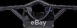 Russ Wernimont Black Highway Bar Skid Plate & Footrests for 91-17 Harley Dyna