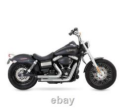 SLIP ON PIPE MUFFLER EXHAUST FIT Harley Dyna 2012-2016 SwitchBack FLD C1