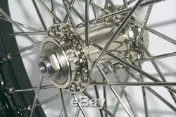 STEEL 18 WR Spool Hub FRONT WHEEL for Harley 45 Track Race Bikes