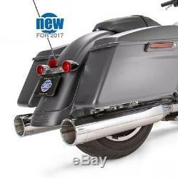 S&s 4.5 Mk45 Exhaust Mufflers Harley Electra Glide Road King Street Ultra