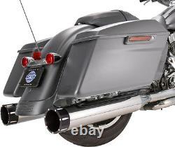 S&s Mk45 Exhaust 4.5 Slip-on Mufflers Harley Electra Glide Road King Street Cvo