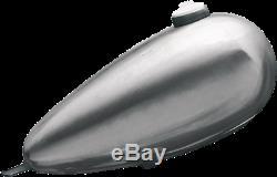 Single Cap Fat Bob Mustang Gas Tank Chopper Bobber Rigid Harley Frisco 3 Gallon