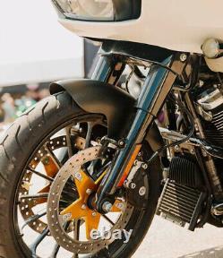 Slyfox Matte Carbon Fiber Front Fender 19 Wheel Harley Touring Bagger 2014-2020