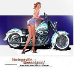 Smooth Rear Steel Fender Wide Tire Baggers Harley FLH Touring 2009-2013