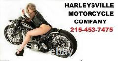 Smooth Rear Steel Fender Wide Tire Conversion Harley FLHR Road King FLHT